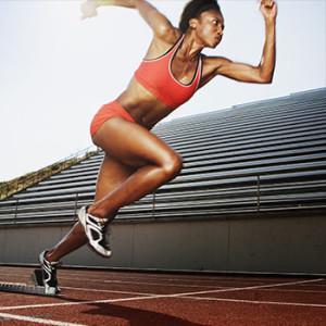Female Sprinter